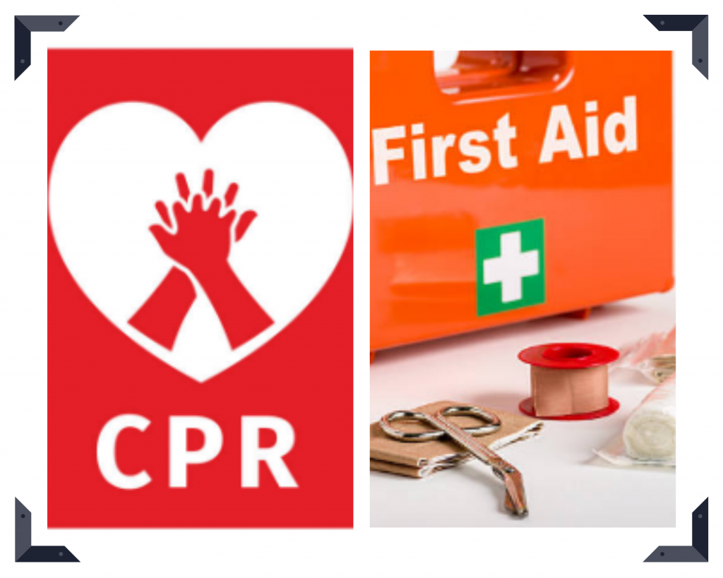 Difference between CPR and First Aid